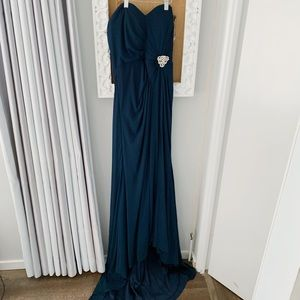 Dresses & Skirts - Navy evening dress